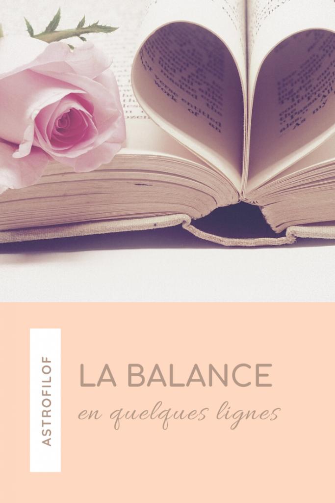 La Balance en quelques lignes