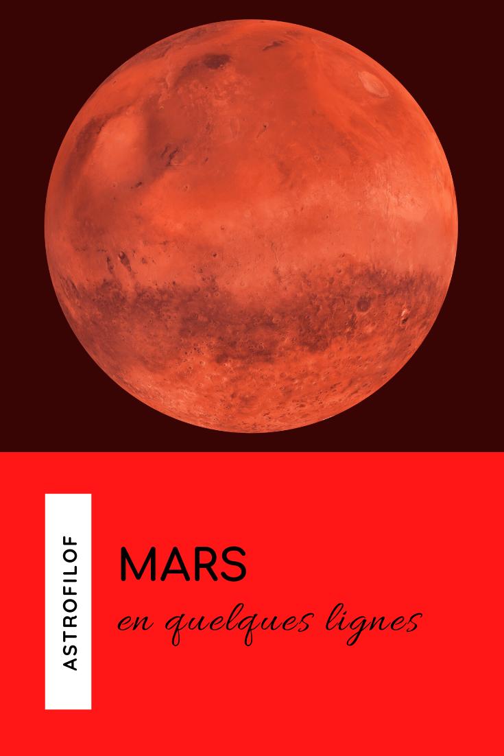 Mars en quelques lignes