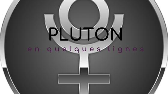 pluton en astrologie