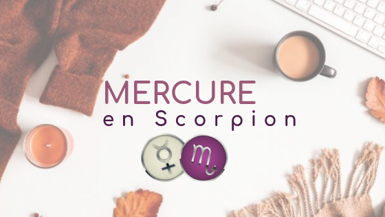 Mercure en Scorpion