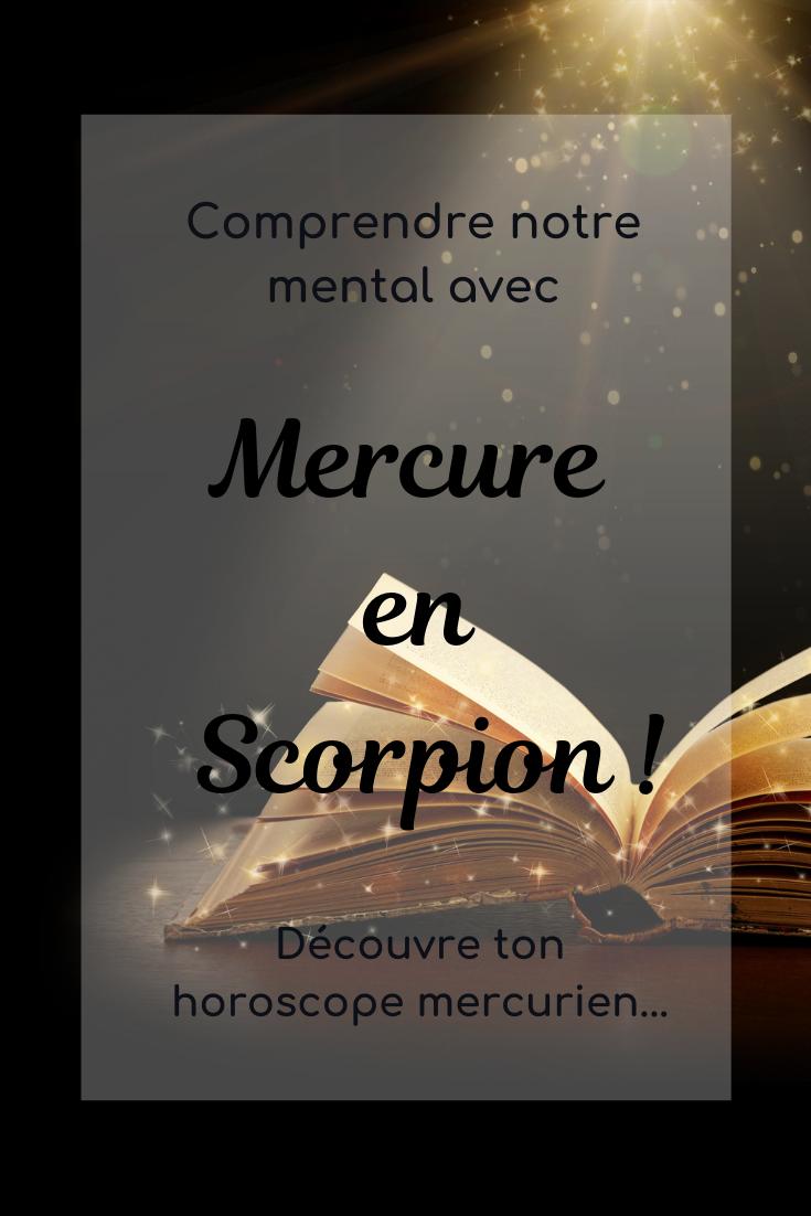 Mercure en Scorpion