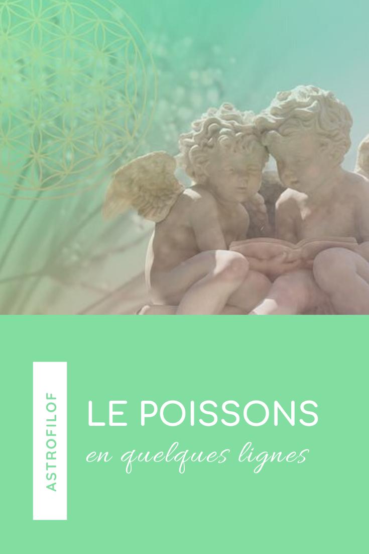 Le Poissons signe astrologique