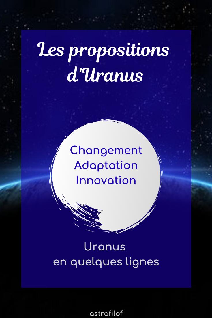 Uranus en astrologie