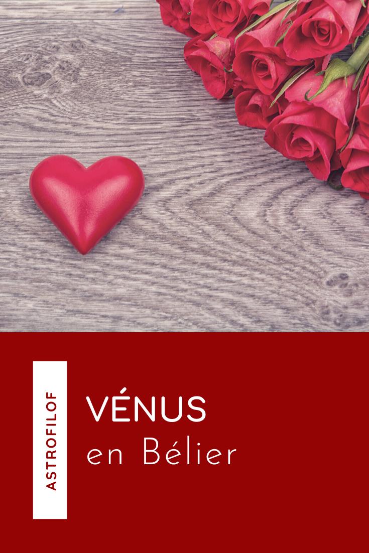 Vénus en Bélier Astrofilof