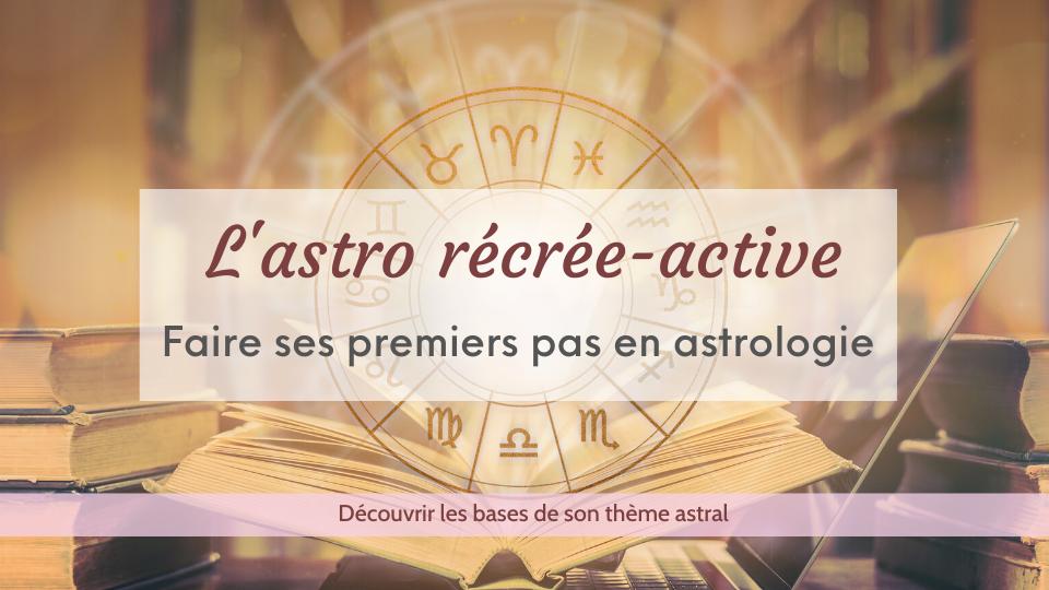 les bases d'un thème astral