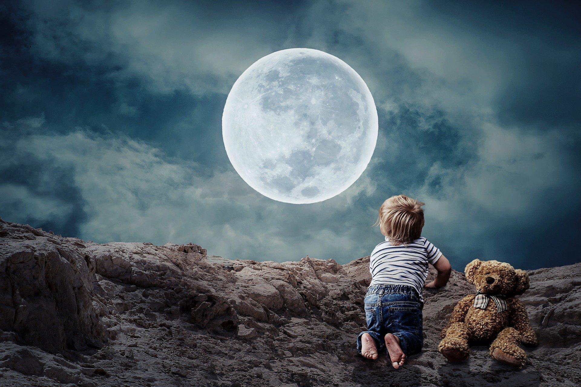 La Lune dans un thème