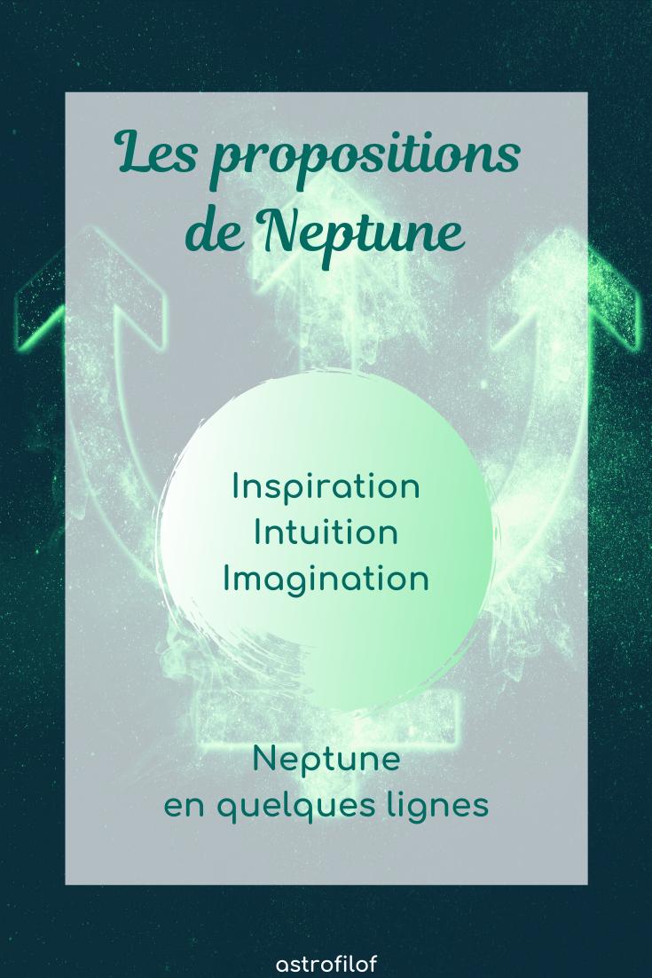 les propositions de Neptune